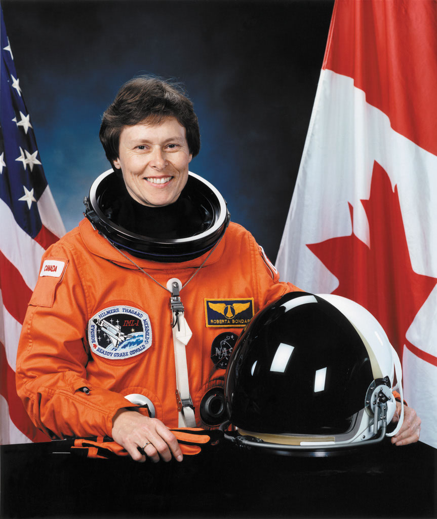 biography roberta lynn bondar Dr roberta lynn bondar (роберта бондар), ukrainian ancestor born in sault ste marie she is canada's first female astronaut and the first neurologist in space bondar has received many honours including the order of canada, the order of ontario, the nasa space medal, over 22 honorary degrees and induction into.