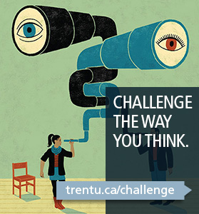 Challenge the Way You Think Advertisement