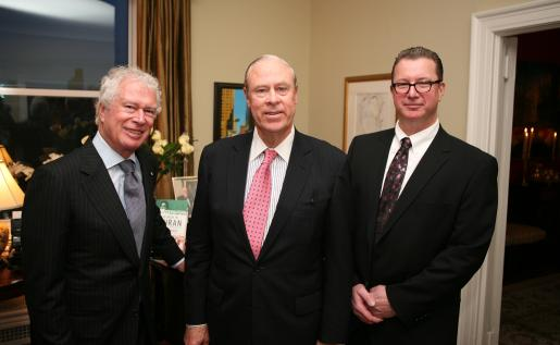 Former Canadian Ambassador to Iran Ken Taylor, former Consul General of Canada in New York Dan Sullivan, and Trent University History Professor Dr. Robert Wright