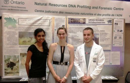 Trent Students Discuss DNA and You at Royal Ontario Museum