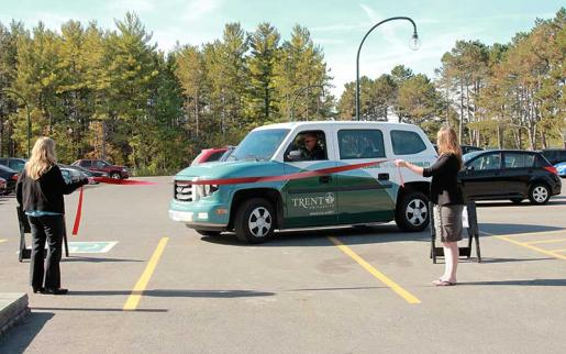 Trent Becomes First University in Canada to Introduce MV-1 Accessibility Vehicle