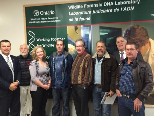 Trent Animal Genetics Group Welcomes Costa Rican Delegation