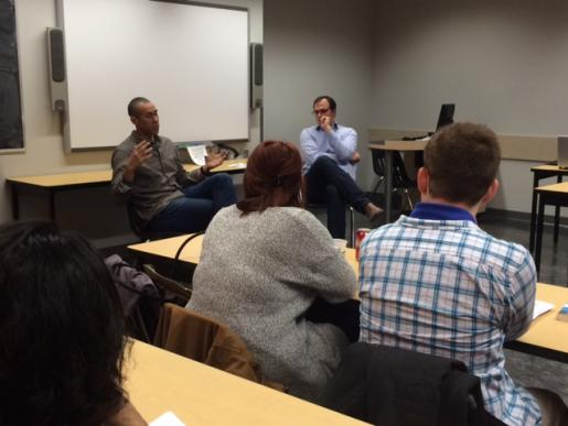 Oscar-Nominated Director Visits Trent University Durham Classroom