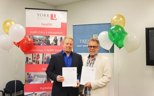 Trent University and York University Partner on Aging Research