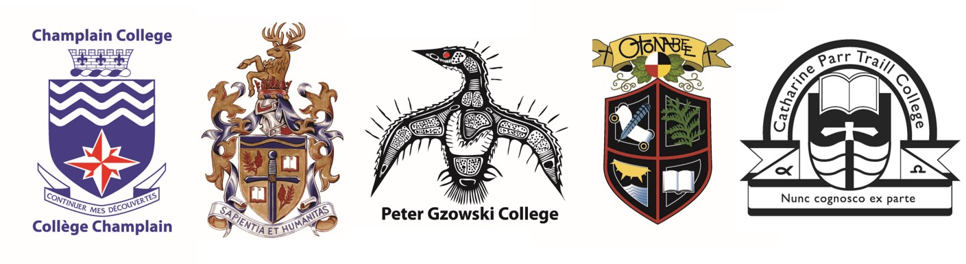 College logos and crests