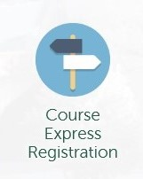 image of the MyTrent icon used for Course Express Registration