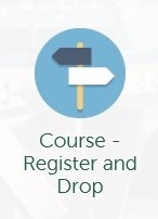 image of the MyTrent icon used for Course Register and Drop