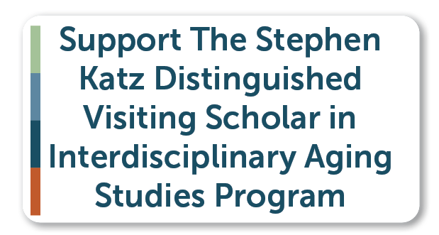 Button for donating to the Stephen Katz Program