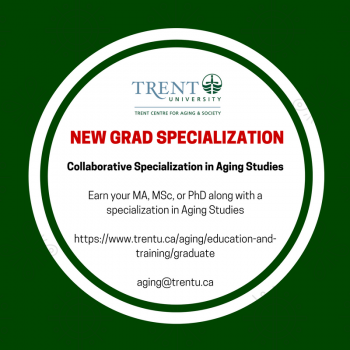 Graphic of Collaborative Specialization in Aging Studies
