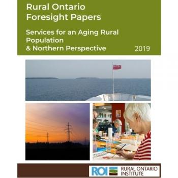 Services for an Aging Rural Population Report Cover
