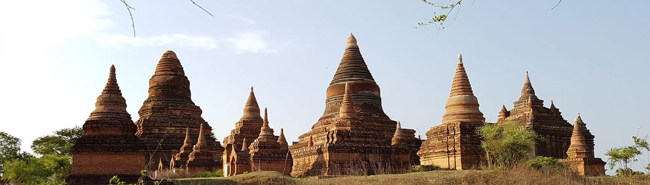Temples at Bagan, Myanmar