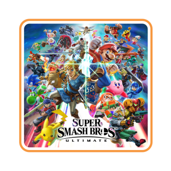 Super Smash Bros Game Cover