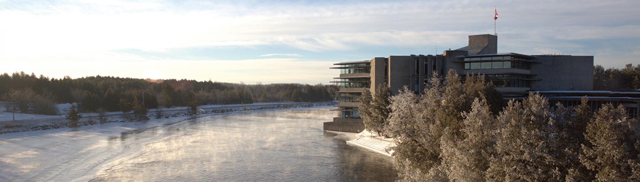Bata Library and the Otonabee Rover