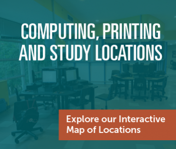 Computing, Printing and Study Locations - Explore our Interactive Map of Locations