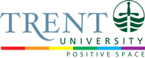 Trent University Positive Space Logo
