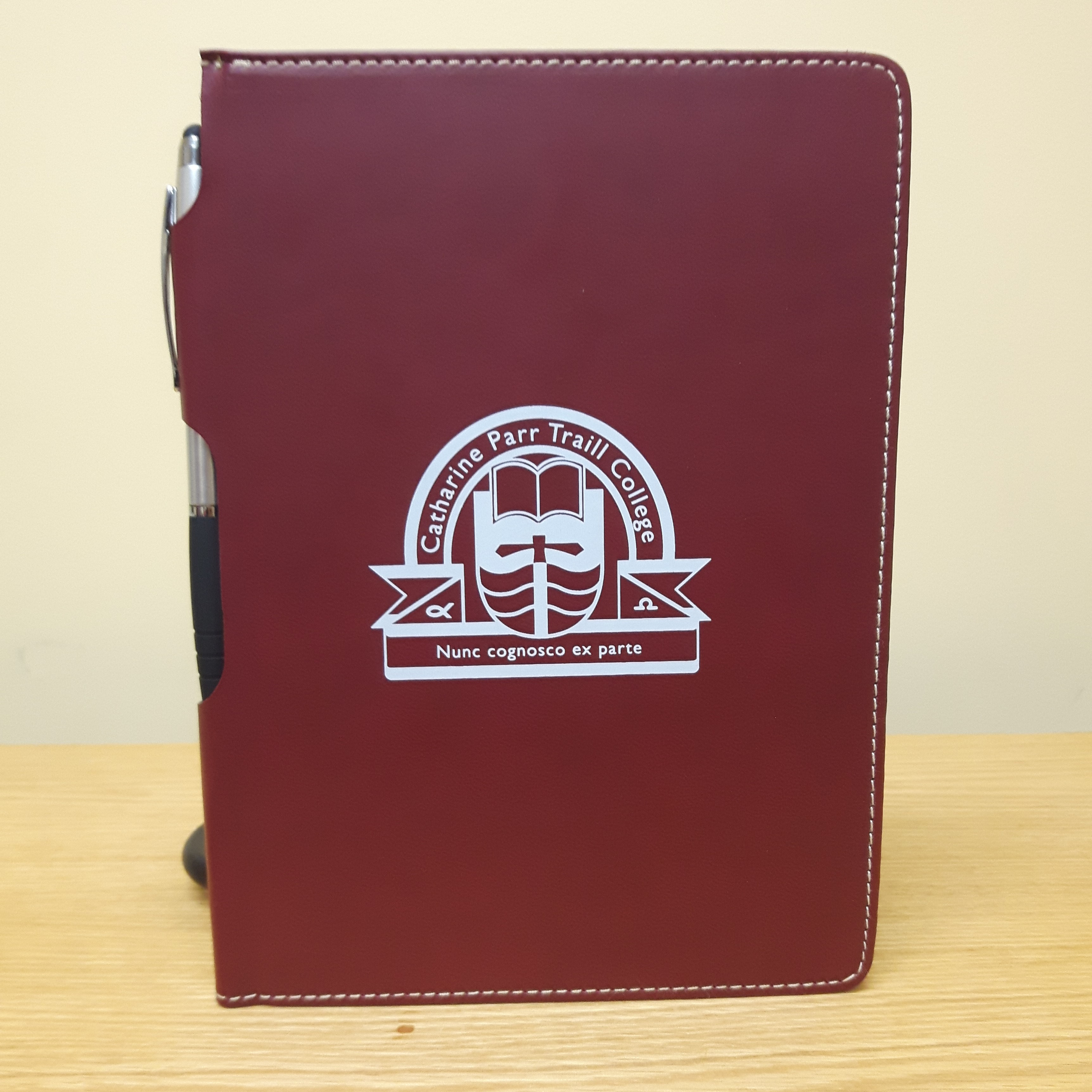 Traill Maroon Notebook