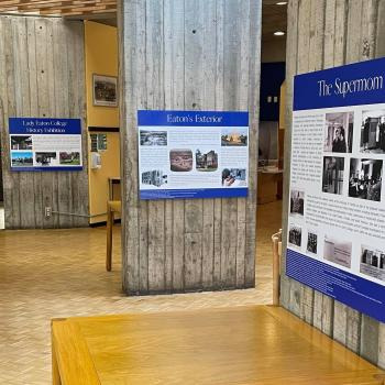 History Exhibition in Lady Eaton College Dining Hall