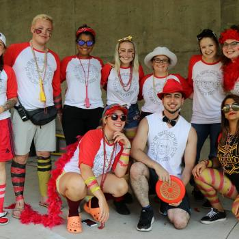 Group picture of the Gzowski Orientation Week Team