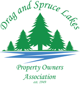 Logo for Drag and Spruce Lakes Property Owners Association