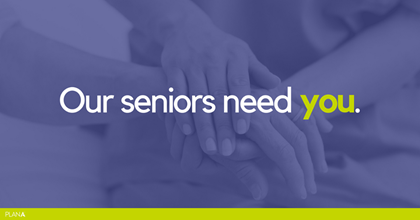 Plan A: 'Our Seniors Need You'.