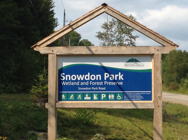 Snowdon Park Photo of Welcome Sign