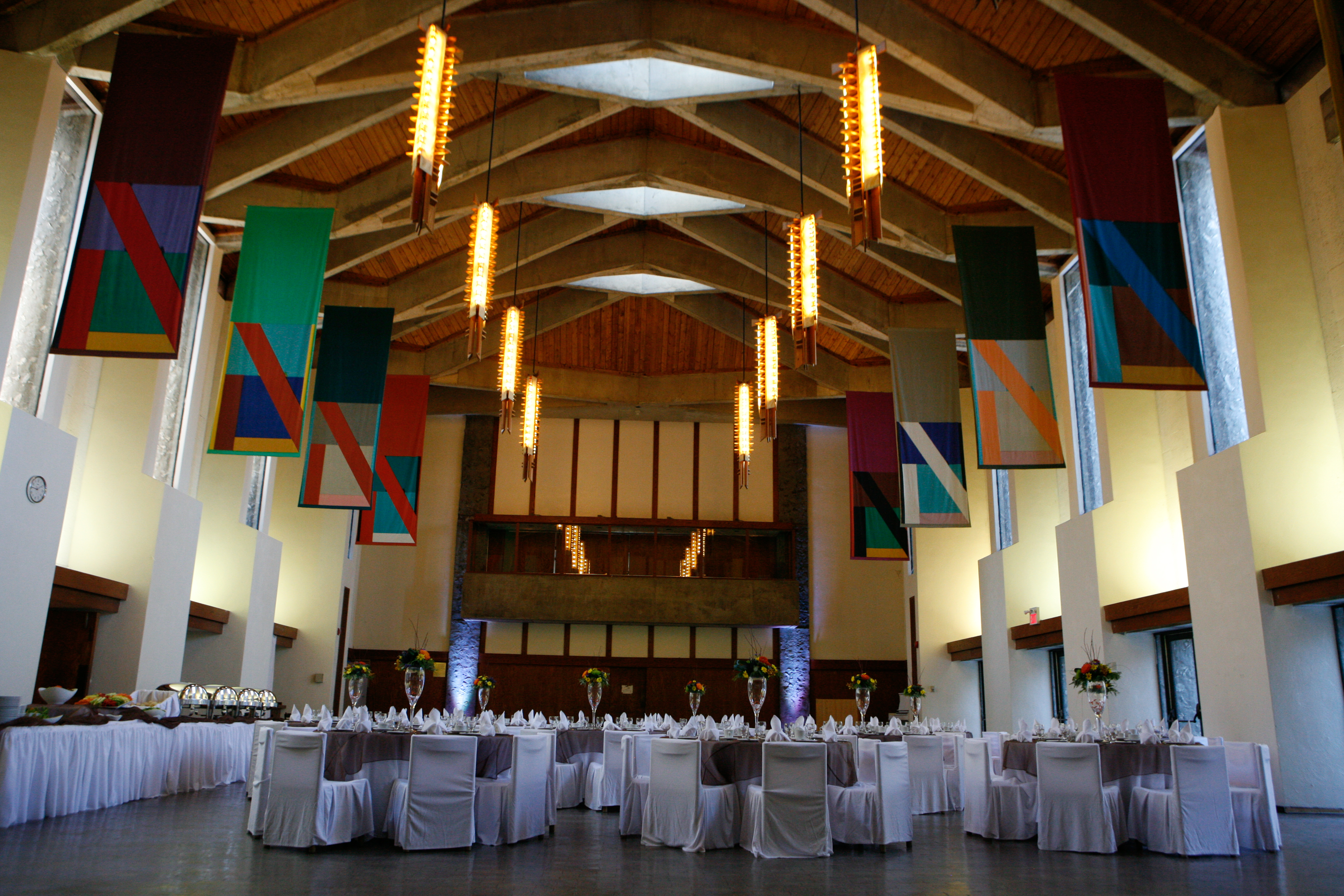 photo of Great Hall in Champlain College
