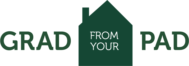Grad From your Pad logo