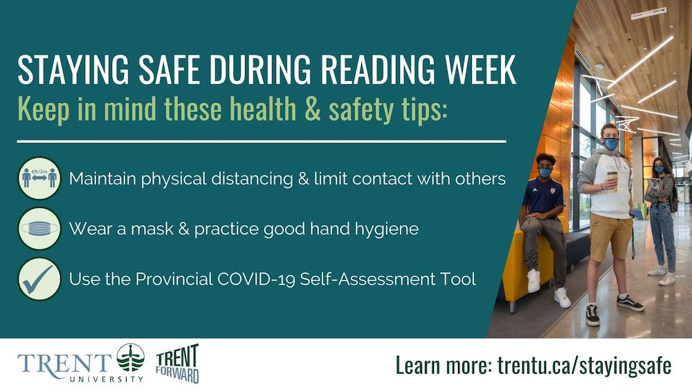 Staying safe on reading week