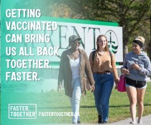 Getting vaccinated can bring us all back together faster. Fastertogether.ca
