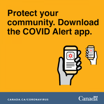 Protect your community. Download the COVID Alert App.