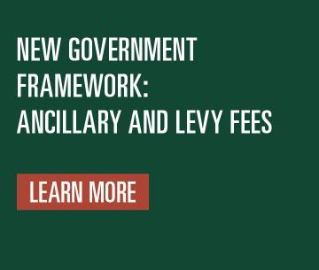 New Government Framework: Ancillary and Levy Fees