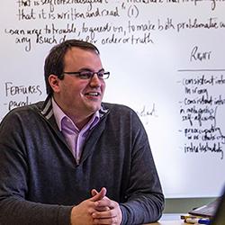 Durham Professor teaches small class