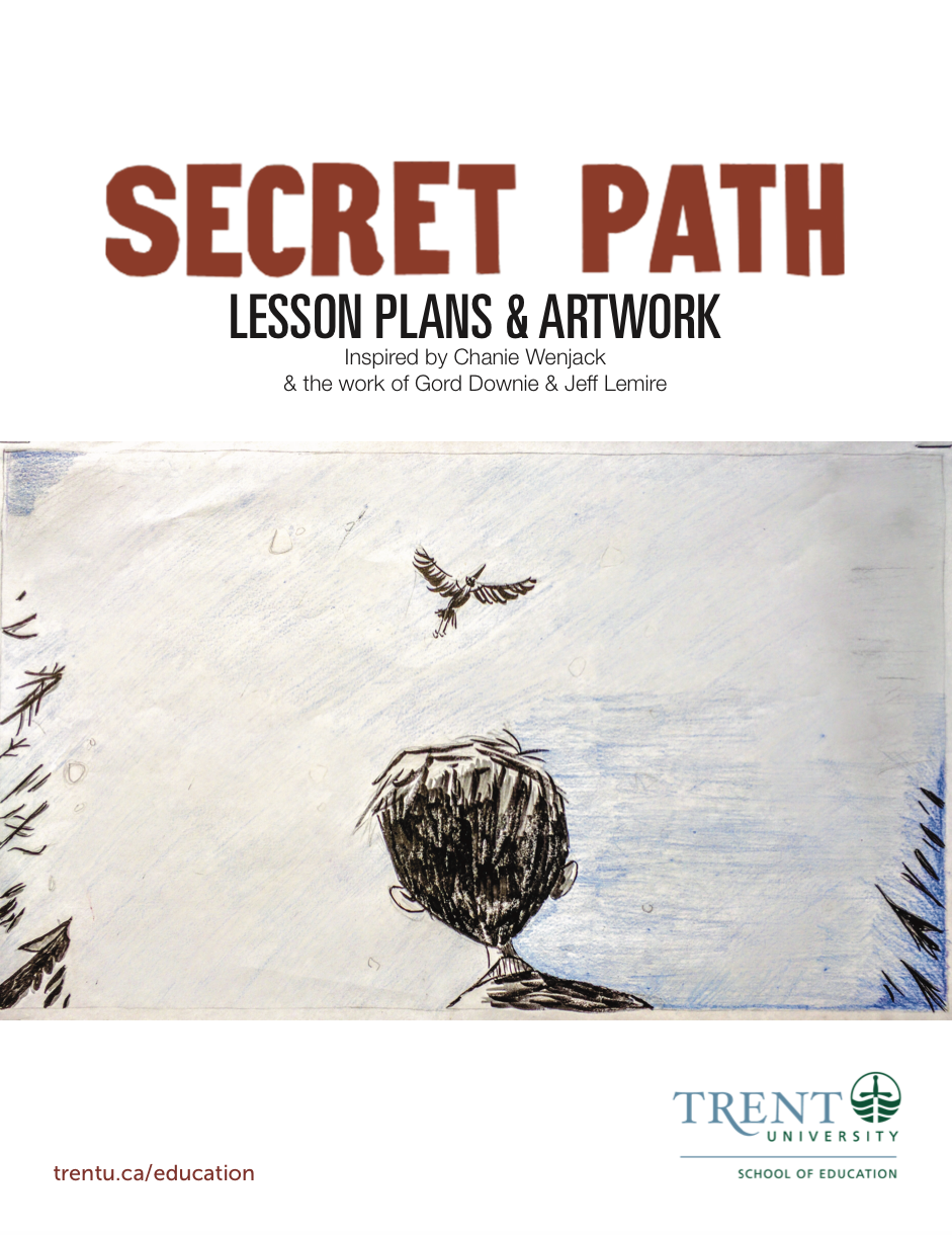 Secret Path cover for lessons and artwork