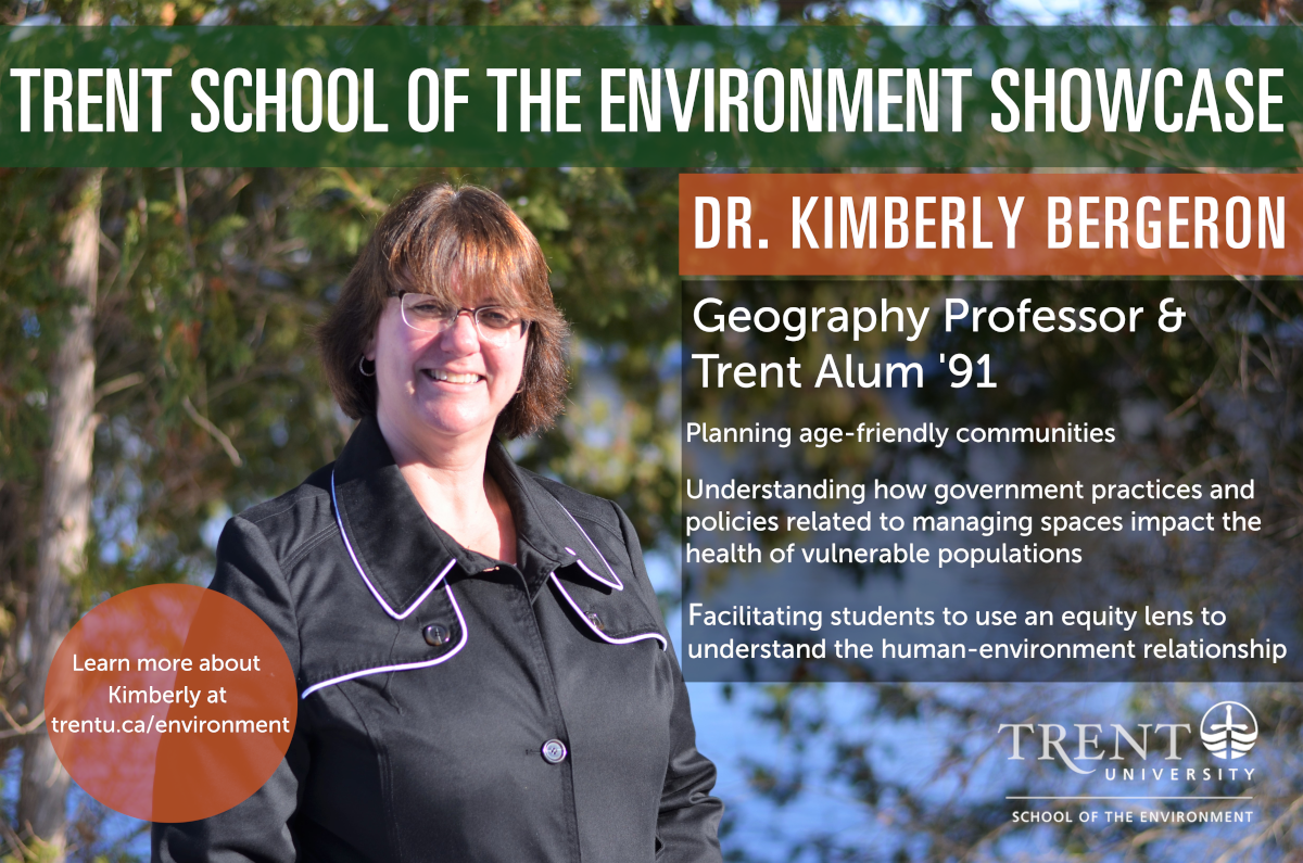 Trent School of the Environment Showcase Poster for Kim Bergeron