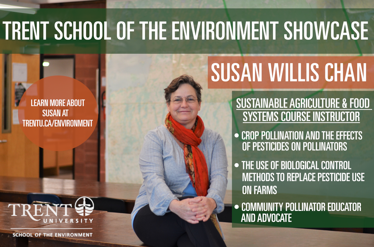 Trent School of the environment showcase poster for Susan Chan