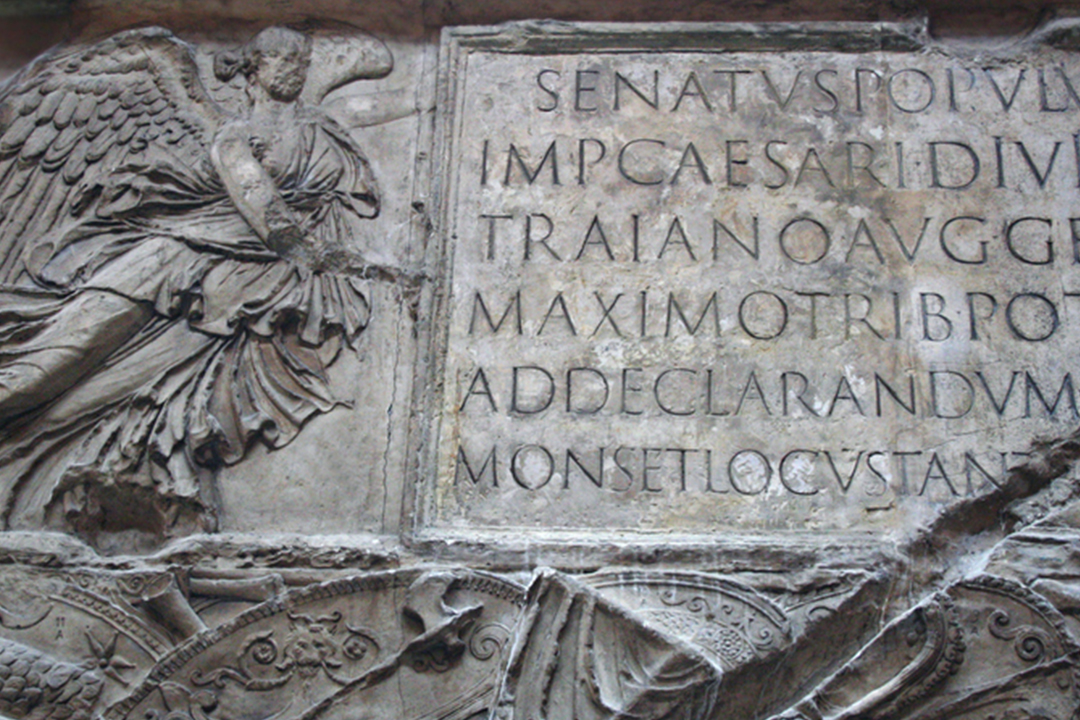 Ancient Roman sign