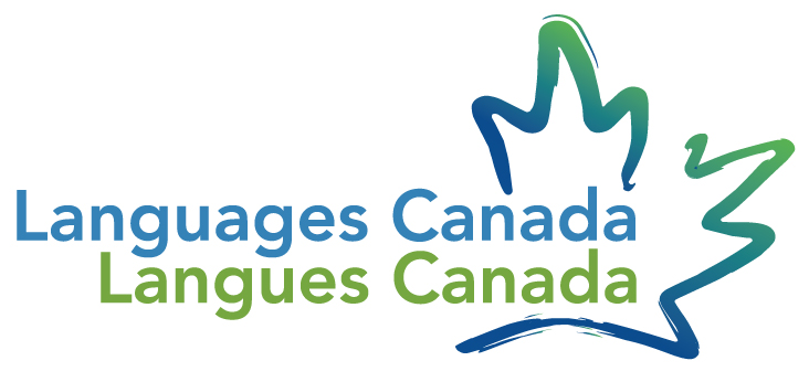 Language Canada Logo in green, red and blue