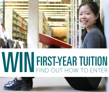 Win First-Year Tuition, find out how to enter