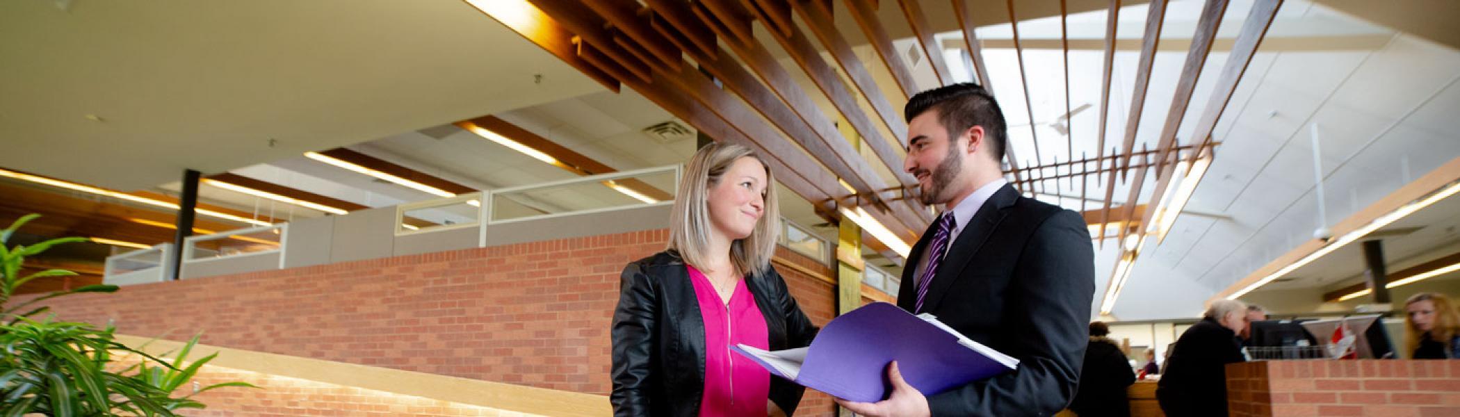 Trent University Durham GTA business student.