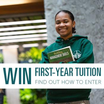 Win First-Year Tuition