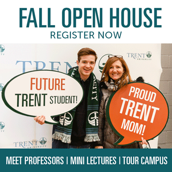 Fall Open House, register now