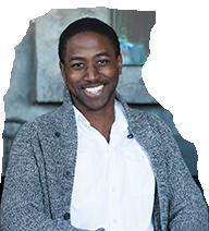 Studet: Cornel Grey profile photo against a white background