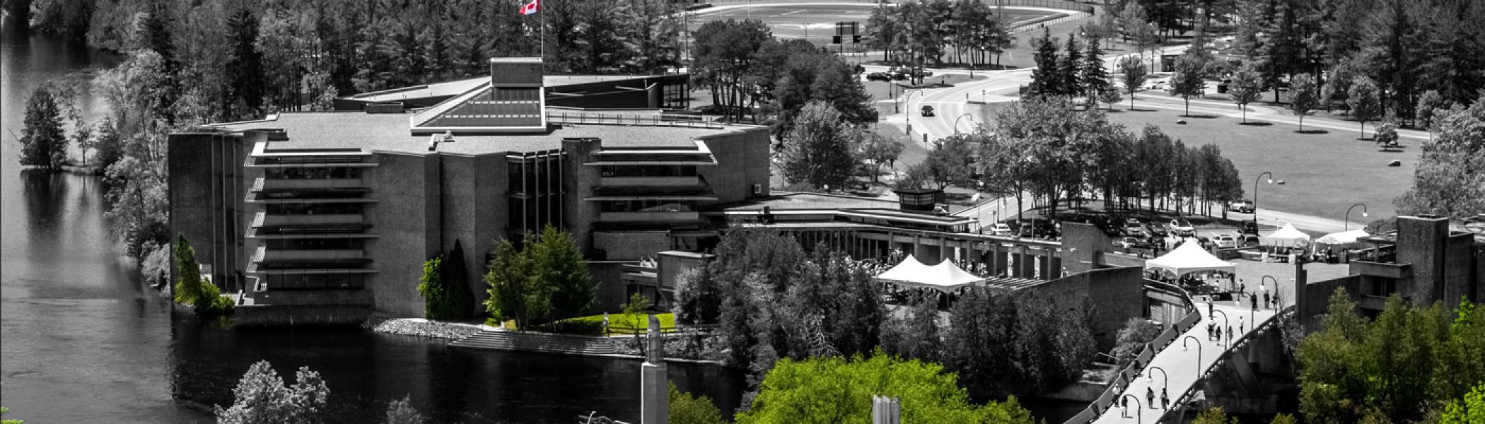 Trent University Aerial Shot