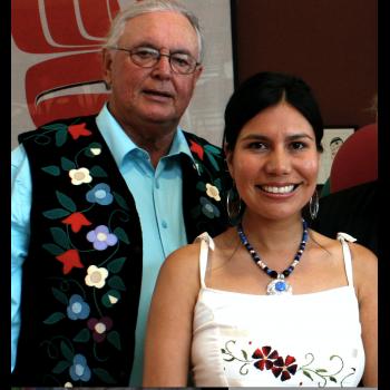 Elder Doug Williams with Karyn Recollet