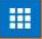 Apps icon - blue background with 9 white rectangles in grid pattern