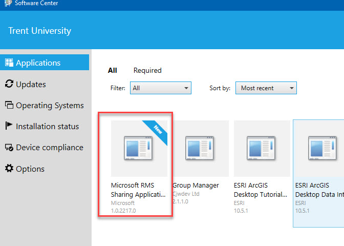 Installing Microsoft Azure RMS Client - PC - Information