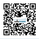 Scannable QR code to access both eduroam and RezNet on campus