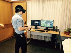 MaDGIC Data Visualization VR Set Up