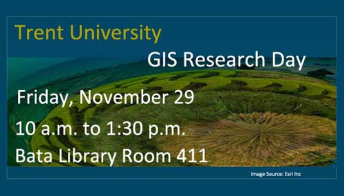 GIS Research Day Poseter all information repeated in text below