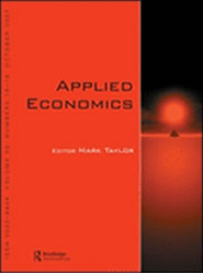 Image of the cover of Applied Economics